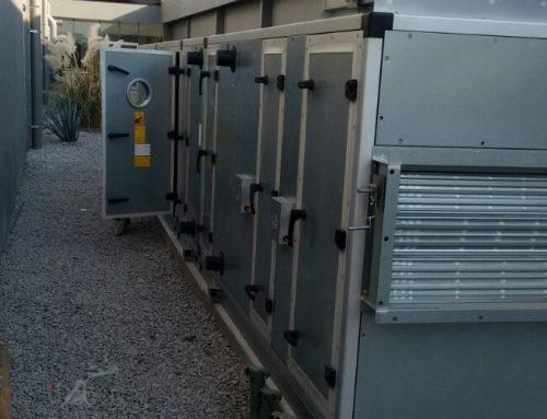 Sistema de manejo de aire para laboratorio